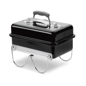 Barbacoa de carbon go-anywhere black weber