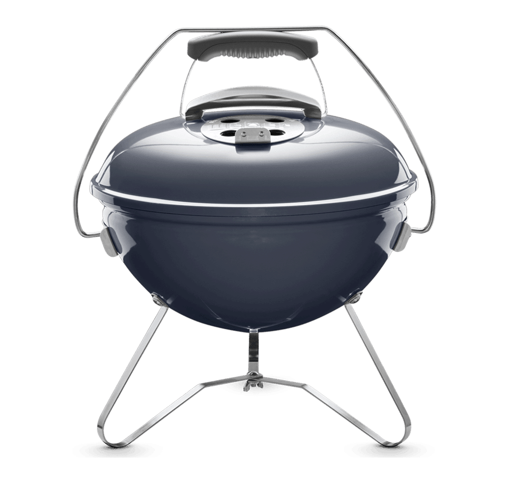 Barbacoa de carbon smokey joe premium slate blue weber