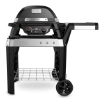 barbacoa eléctrica pulse 2000 con carro weber