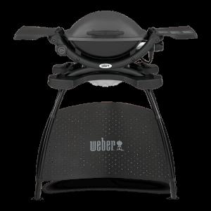 Barbacoa eléctrica q1400 con carro stand weber