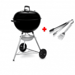 pack barbacoa de carbon original kettle con set de accesorios