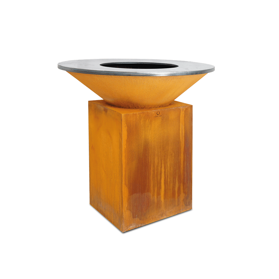 barbacoa ofyr classic corten oc-100
