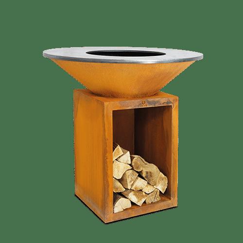 barbacoa ofyr classic storage corten ocs-100