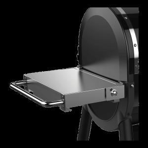 mesa lateral plegable inox