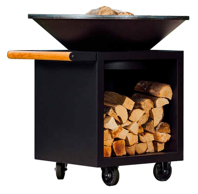 barbacoa ofyr classic storage black o100 pro