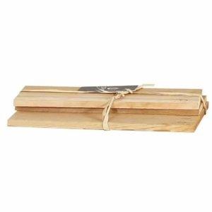 juego de 3 tablas de madera de cedro ofyr