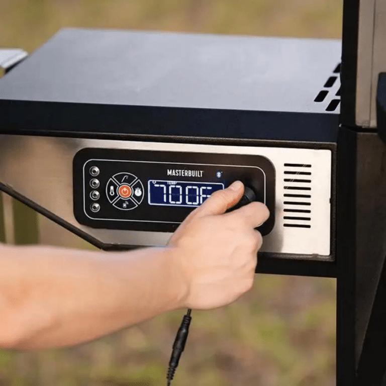 Asador + ahumador de carbón digital Gravity Series