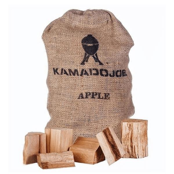 Trozos madera Manzano kamado