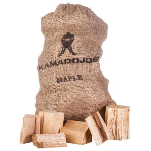 Trozos madera arce kamado joe