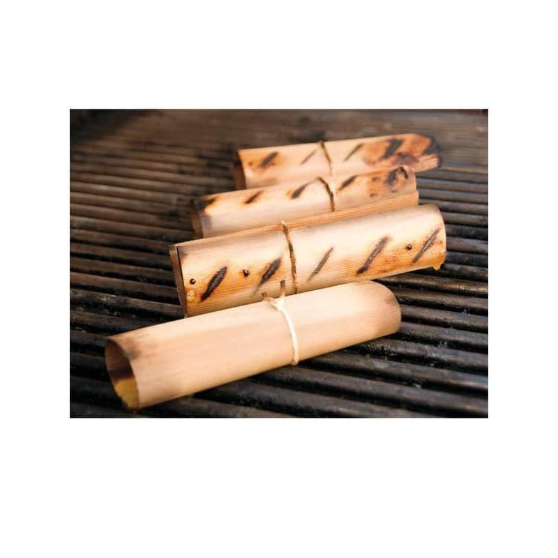 wraps de madera de cedro rojo weber