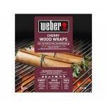 wraps de madera de cerezo weber